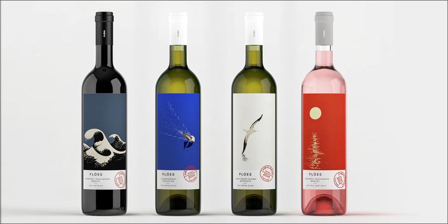 Ploés Weinettiketten